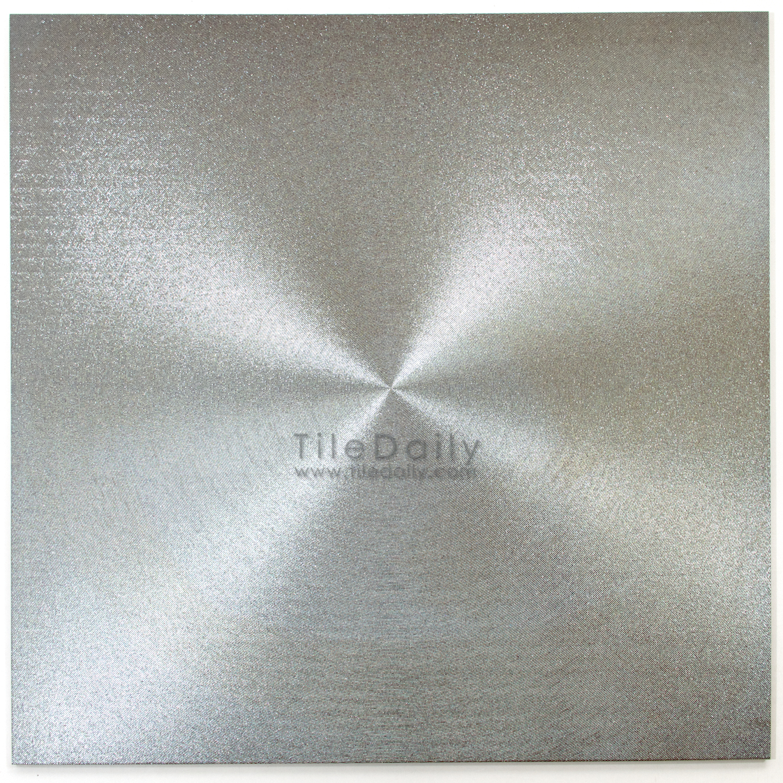 MP0017SR  Metallic Porcelain Tile, Silver