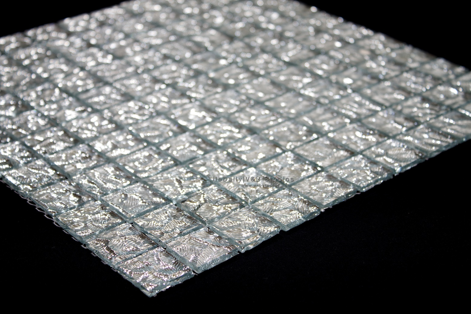 cracked ice glass mosaic tiledaily