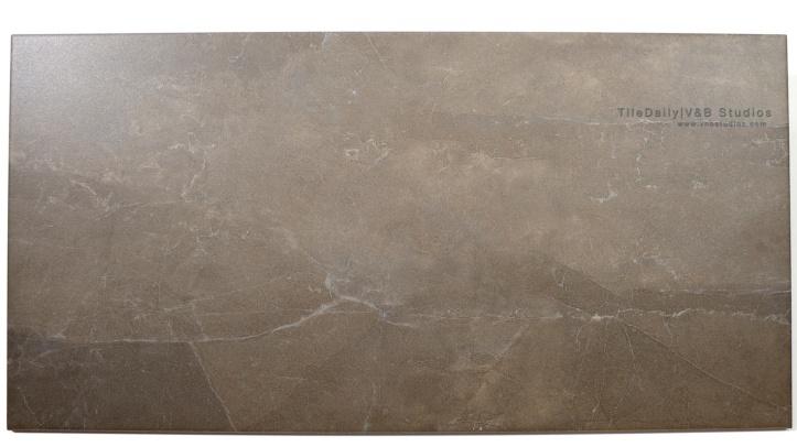 P0023BN Quartz Vein Porcelain wall floor tile, Taupe Brown, 12x24, Matte Surface Finish