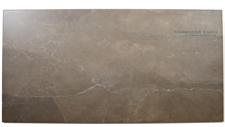 P0023BN Quartz Vein Porcelain wall floor tile, Taupe Brown, 12x24, Matte Surface Finish