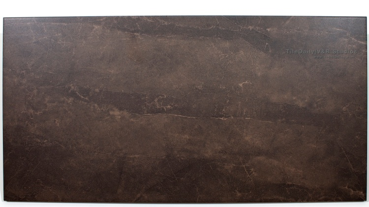 P0023 Quartz Vein Porcelain Tile, Dark Brown, 12x24, wall floor tile