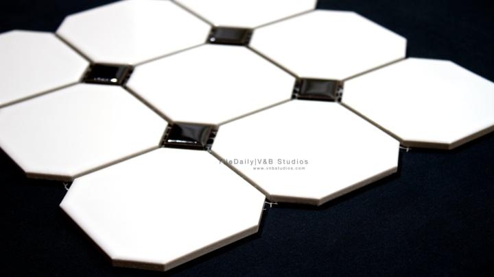 Octagon Porcelain Mosaic