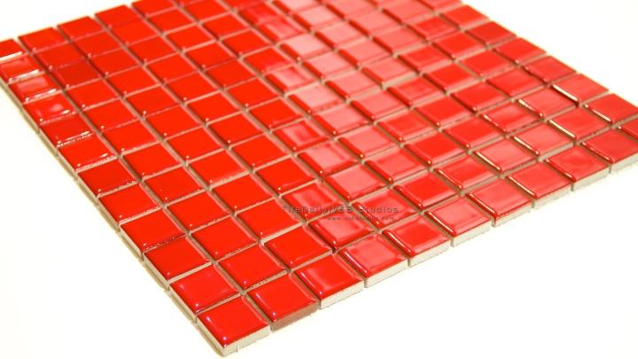 Red Glazed PorcelainMosaic