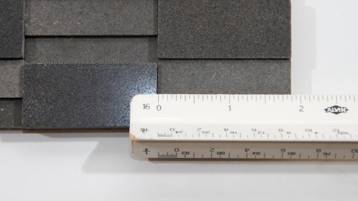 Splitface Basalt Stone Mosaic Tile at TileDaily