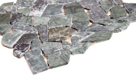 Jade Green Cut Marble Mosaic
