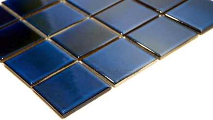 Midnight Blue Glaze Porcelain Mosaic
