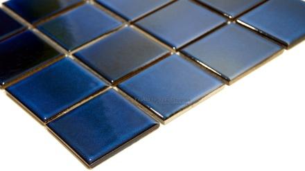 Midnight Blue Glaze Porcelain Mosaic