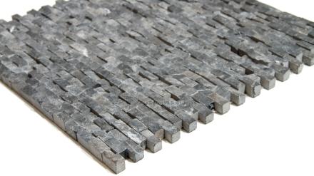 Nero Black Marble Splitface Mosaic