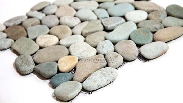 Spring Rain Natural Flat Pebbles