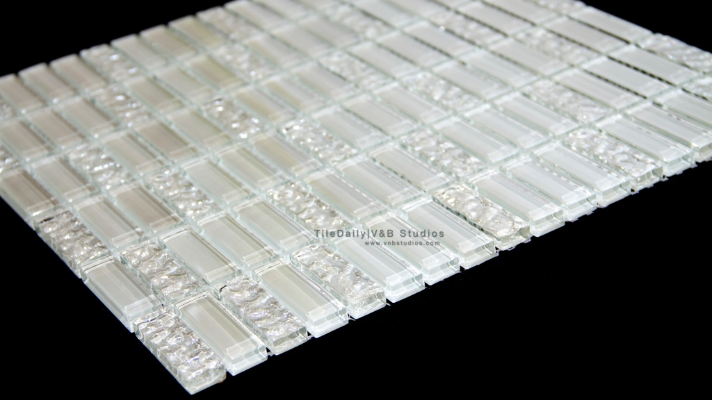 GM0062 - Iridescent Bars Glass Mosaic