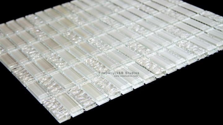 GM0062 - Iridescent Bars Glass Mosaic