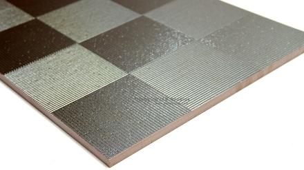 Squareline Metallic Porcelain Tile