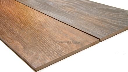 Wood Porcelain Tile, Grey, Brown
