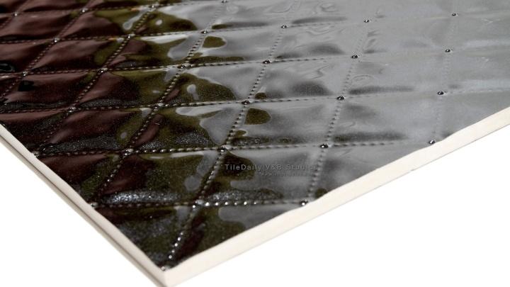 Beveled Diamonds Ceramic Tile, 2Colors