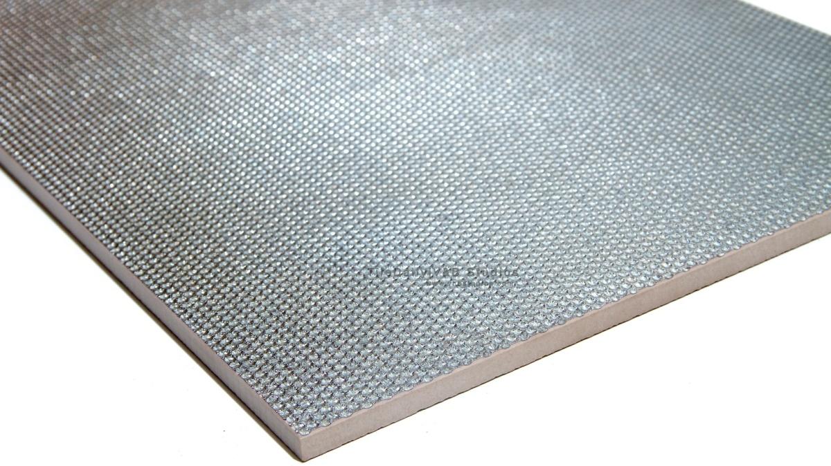 Silver Grate Metallic Porcelain Tile Tiledaily