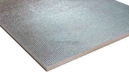 Silver Grate Metallic Porcelain Tile
