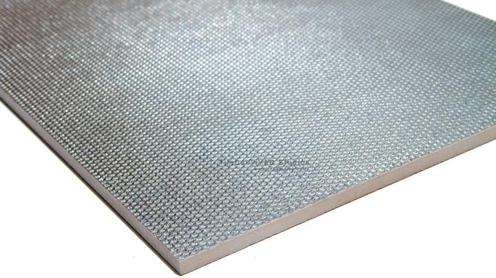 Silver Grate Metallic PorcelainTile