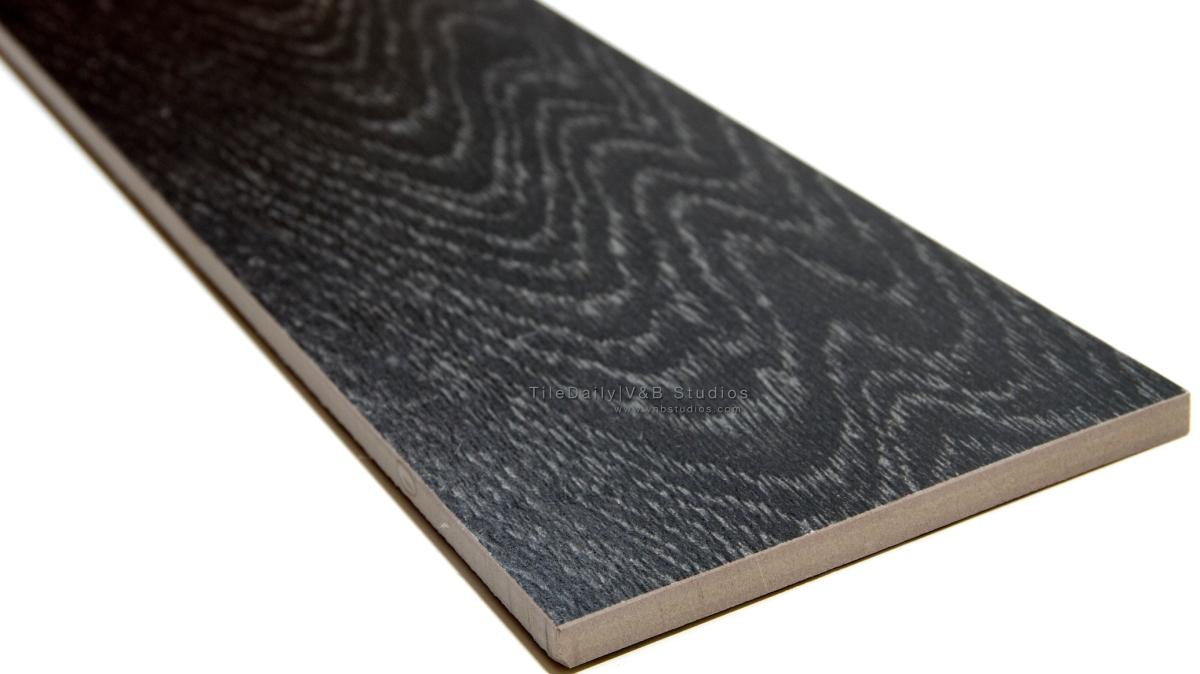Wood Pattern Porcelain Tile Black Tiledaily