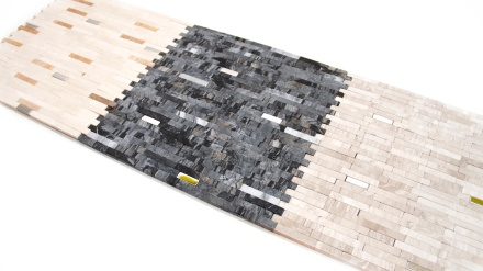 Marmo Series Stone and Steel Mosaic