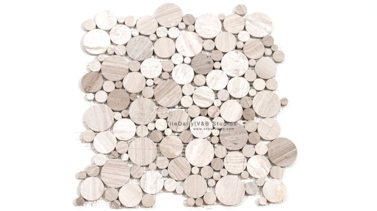 NS0033GY   White Oak Marble, Mixed Cream and Light Grey