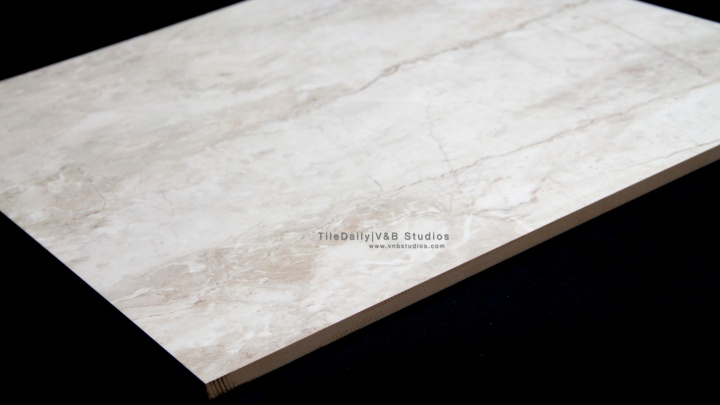 Polished Marble Porcelain Tile, Pearl