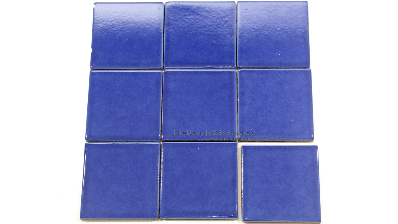 Denim Blue Ceramic Tile Tiledaily