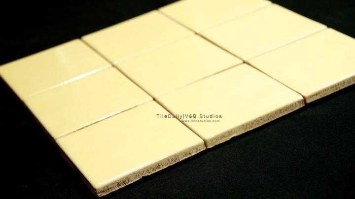 Glazed Ceramic Tile, 4 Colors –SALE