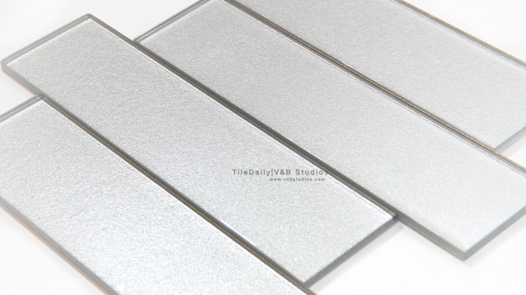 Silver Frost Glass Bars