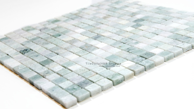 Ming Green Marble Mosaic