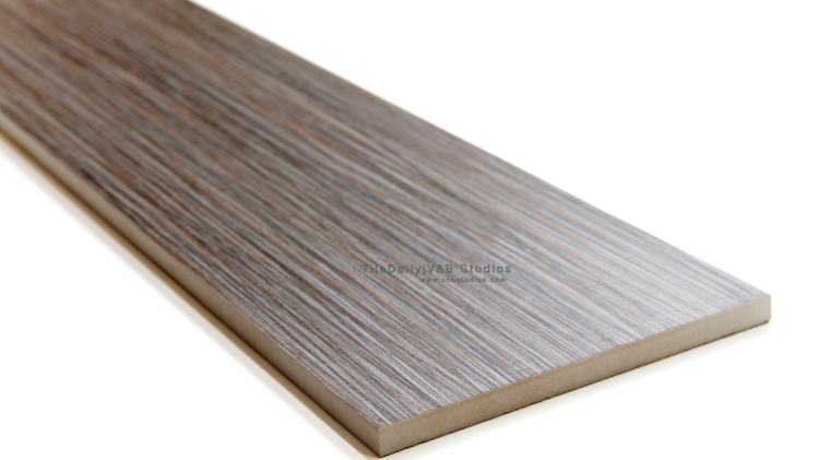 P00126GY   Bamboo Pattern Porcelain Plank, Grey
