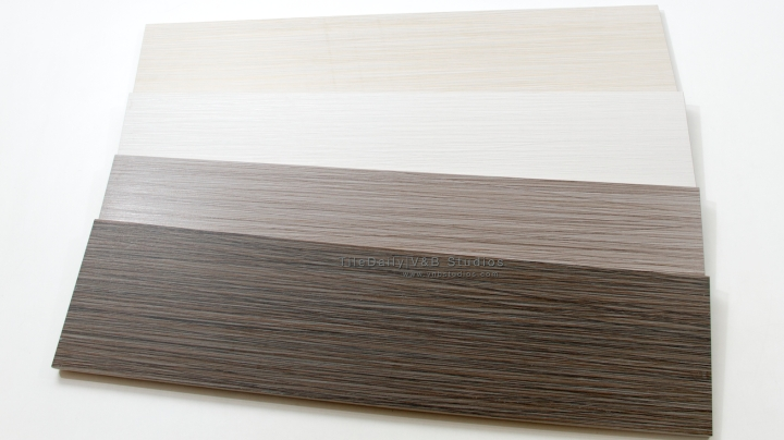 Bamboo Pattern Porcelain Plank, 4 Colors
