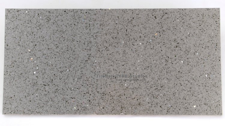 NS0041GY - Galaxy Quartz Tile, Grey