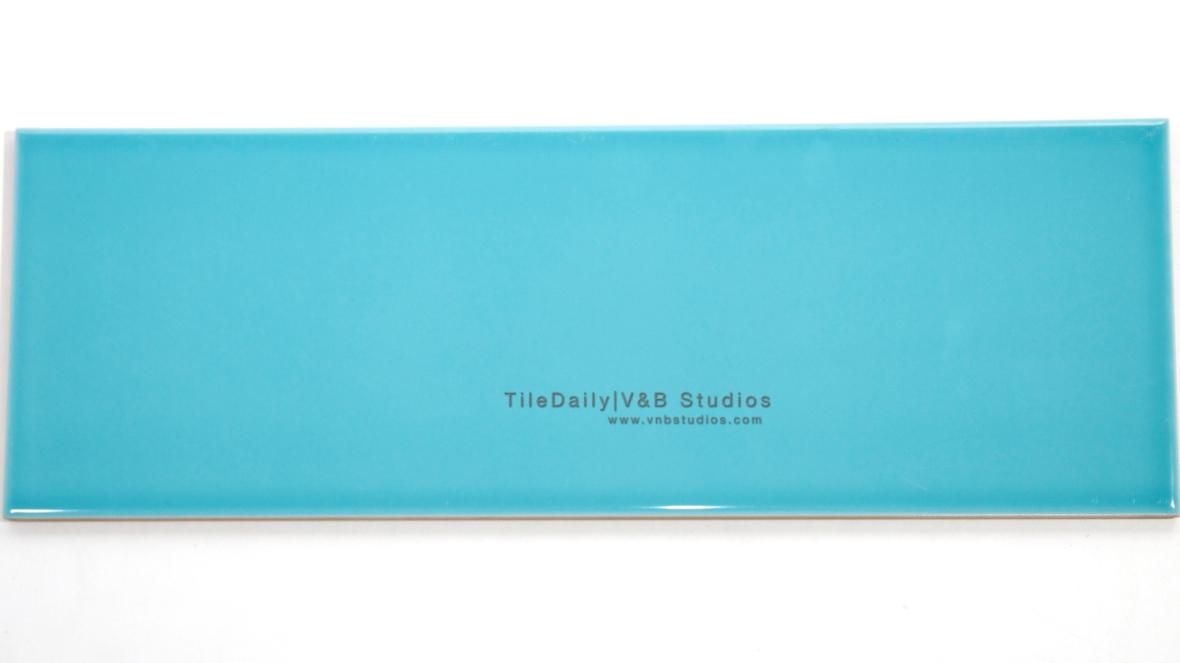 P0035TQ - Colori Large Subway Tile, Turquoise