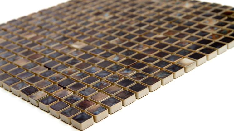 Coral Series Small Square Mosaic