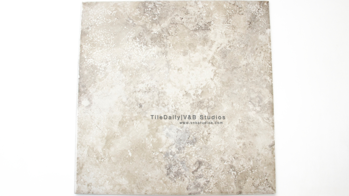 P0055GT - Travertine Porcelain Tile, Grey Travertine