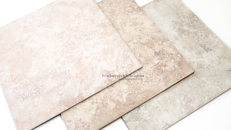 Travertine Porcelain Tile, 3 Colors
