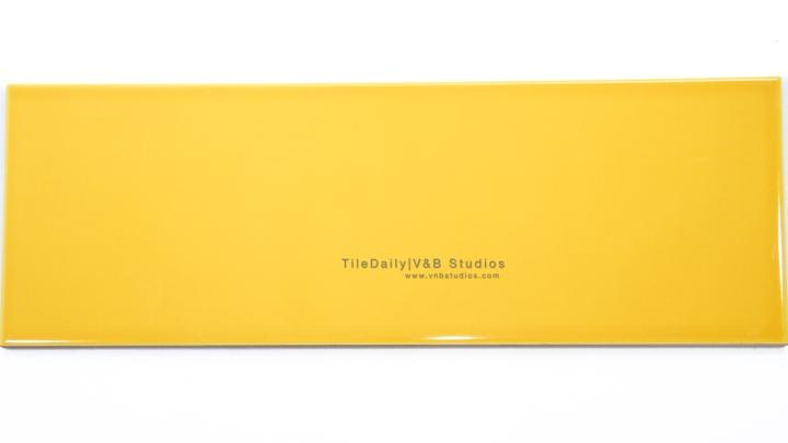 P0035YW - Colori Large Subway Tile, Yellow