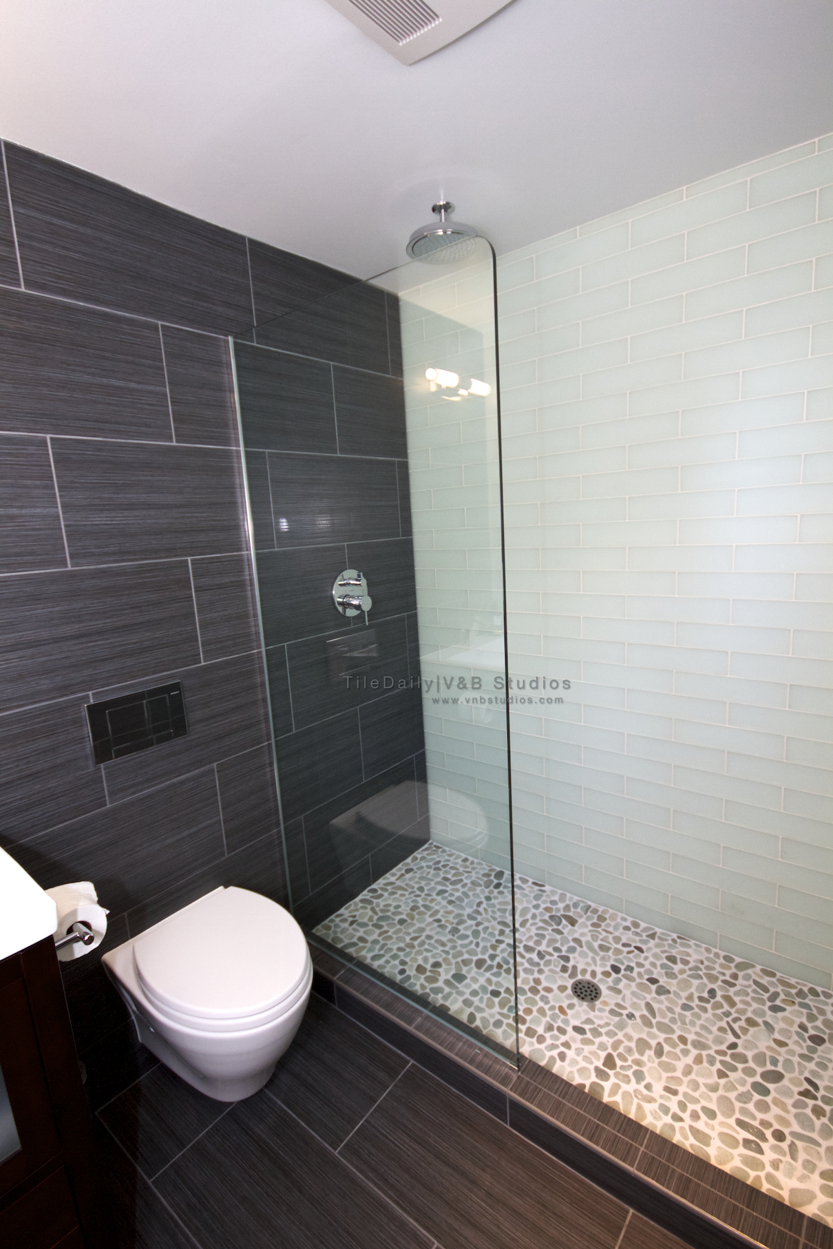 walk in shower tiledaily