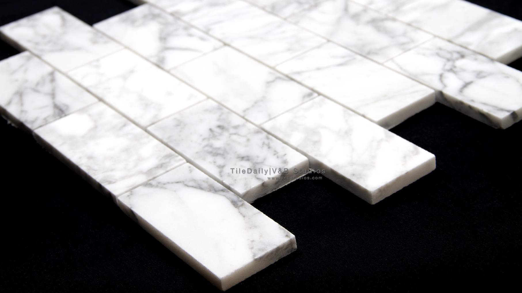 Subway Tiledaily - Carrara porcelain tile 3x6