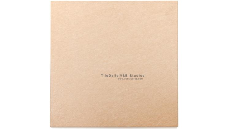 P0058LBN - Brushed Matte Porcelain Tile, Light Brown