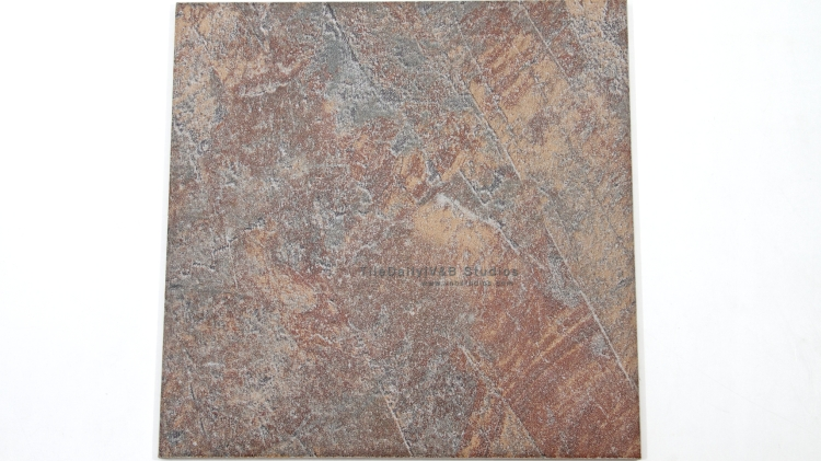 P0056GY - Coarse Slate Porcelain Tile, Grey