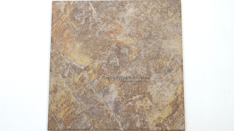 P0056BN - Coarse Slate Porcelain Tile, Brown