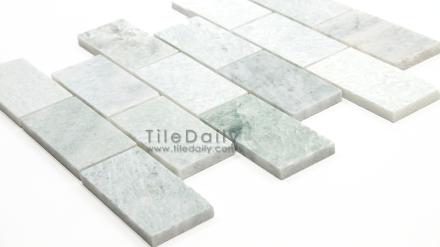 Ming Green Marble Brick Mosaic