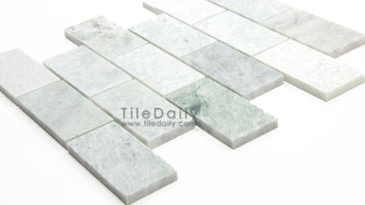 Ming Green Marble BrickMosaic