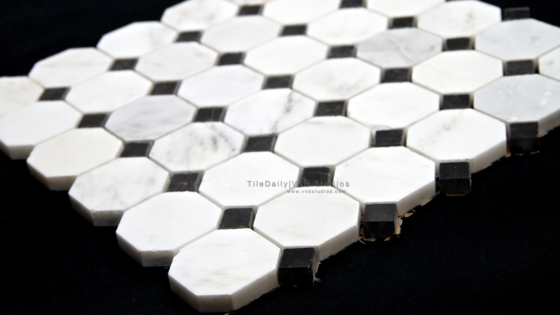 black and white marble floor tile the