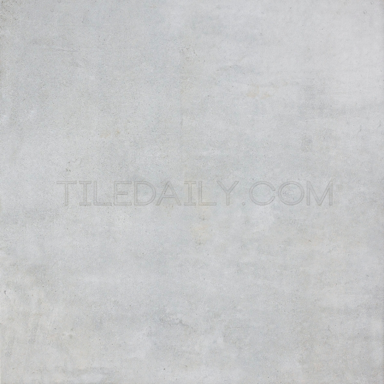 24x24 Cement Series Porcelain Tile, Soft Grey at TileDaily