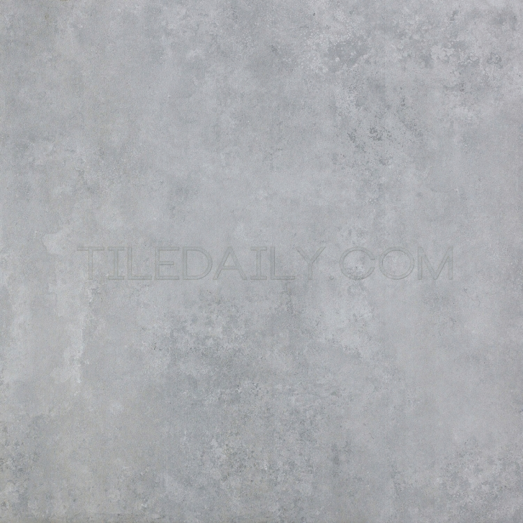 24x24 Cement Series Porcelain Tile, Light Grey at TileDaily
