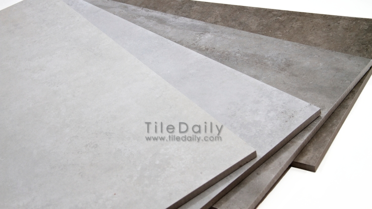 24x24 Cement Series Porcelain Tile, 4 Colors at TileDaily