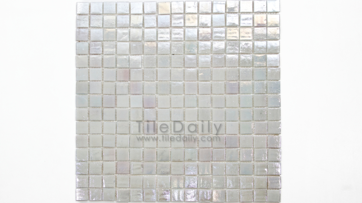 GM0040TM - Iridescent Opaque Glass Mosaic, Titanium