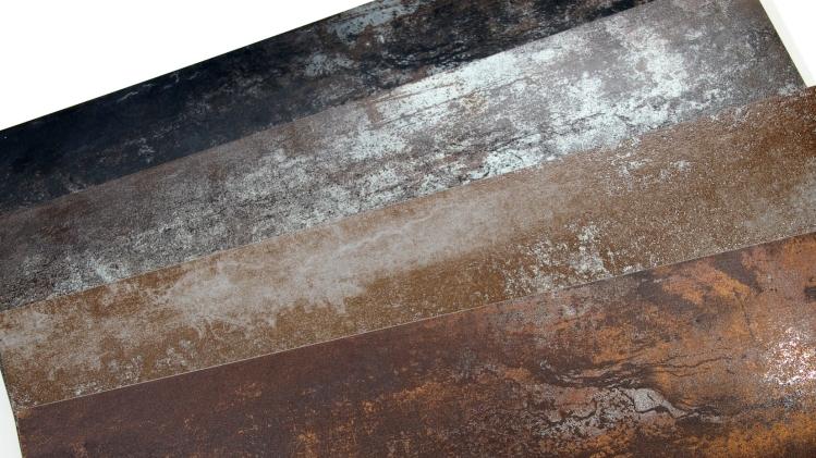 Rustic Glaze Metallic Porcelain Tile